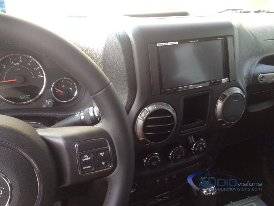 Corpus Christi Client Upgrades Two-Door Wrangler Audio