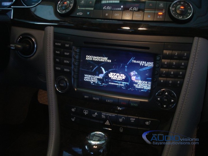 Mercedes benz cls500 audio upgrade for corpus christi client for Mercedes benz stereo upgrade