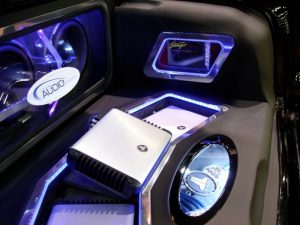 Bay Area Audio Visions Shows Off '57 Chevy In JL Audio Booth