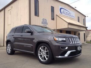 Grand Cherokee Audio