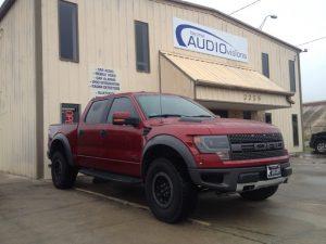 Ford Raptor Audio