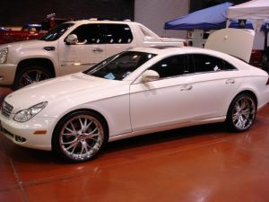 Mercedes Benz CLS500 Audio